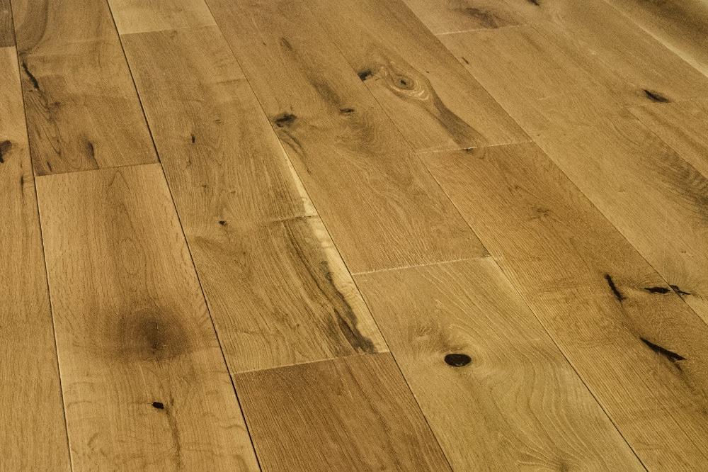 Furlong 9407 Virginia 125 Oak Rustic Brushed Uv Oiled