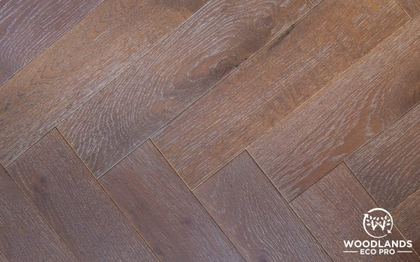 Woodlands Eco Pro Pewtered Copper Oak Parquet